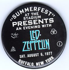 Zeppelin Collectibles :: -Led Zeppelin's Buffalo, New York Connections