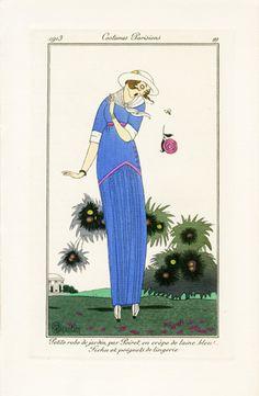 George Barbier French Fashion Prints 1912