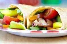 Colorful Vegetable Fajita Fiesta With Rice #Recipe