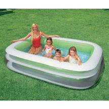 Walmart: Intex 8.6' x 5.75' x 1.8 Swim Center Family Inflatable Pool on clearance for $12.00! Pool and Jacuzzi Solutions by Michael Tancin and Karen Marie Giles.