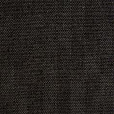 Hemp Organic Cotton Canvas - Black - [product_typpe] - Earth Indigo
