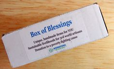 Box of Blessings is a fair trade monthly subscription box that supports impoverished people around the world. See the October 2016 review + coupon!     Box of Blessings Subscription Box Review & Coupon - October 2016 →  https://hellosubscription.com/2016/11/box-blessings-subscription-box-review-coupon-october-2016-p/ #BoxOfBlessings  #subscriptionbox