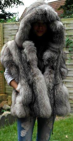 Efurs4less New Honey Fox Fur Ear Muffs Velvet Band