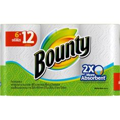 If you love Bounty paper towels, try Bounty Quilted Napkins. Bounty Select-A-Size Paper Towels 8 Rolls 8 OR 24 Rolls; sheets per roll. Select-A-Size White Sheets. 24 Rolls for Special Price! Bulk Paper Towels, Bounty Paper Towels, Paper Towel Rolls, Target Gifts, Fanta Can, Rolled Paper, Mega Pack, Online Coupons, 3 Online