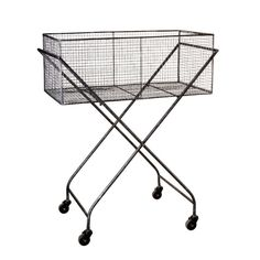 Urban Chic Wine Crate Cart from Dot and Bo.