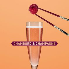 How to make a Chambord & Champagne
