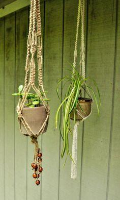 DIY Macrame Plant Hangers - Macrame Plant Hanger - 100 Best Macrame Ideas for Hanging Plants - DIY & Crafts