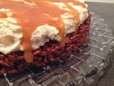 Tinna Björg Friðþórsdóttir: Ljúffenga og einfalda Rice Krispies kakan