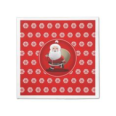 65% OFF paper napkins TODAY ONLY *** Cyber Week Savings *** - valid through December 2, 2014 at 11:59PM PT - Cute Santa Claus Disposable Napkin