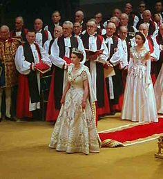 June 2, 1953 Coronation of Queen Elizabeth II in Westminster Abbey  | ...