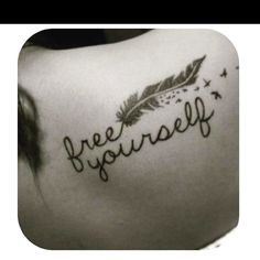 Inspiration tattoo!!  thinking of getting another tattoo maybe on the back of my neck?