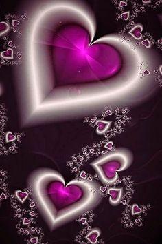Love Fractal Art-- untitled fractals: 8 by *celestial-void Heart Wallpaper, Love Wallpaper, Cellphone Wallpaper, Wallpaper Backgrounds, Iphone Wallpaper, Purple Love, All Things Purple, Purple Art, Stitch 626