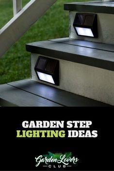 Garden Step Lighting Ideas