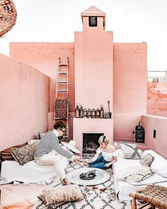 A Moroccan Mansion That's Giving Us Serious Design Inspo | Photo: Bloggers Boyfriend