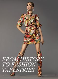 Beauuutiful Printed Boots & Dress!