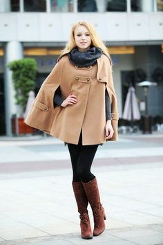 camel-hoodie-cashmere-coat-double-breasted-hooded-wool-winter-cape