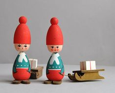 What are your favorite vintage holiday collectibles? (We're partial to these unbearably cute Swedish tomtes.) See more of our picks on the Etsy Blog! #etsyfinds