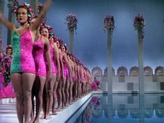 Esther Williams in Bathing Beauty 1944  I'm always in awe of productions as large and lavish as this. They just don't make them like they used to!
