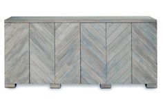 "Penn 80"" Sideboard, Light Graywash 2695 / Late NOV ARV"