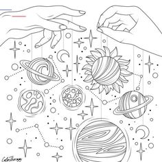 Star coloring pages, Planet coloring pages, Adult coloring page, Cute coloring p. Planet Coloring Pages, Space Coloring Pages, Pumpkin Coloring Pages, Halloween Coloring Pages, Printable Adult Coloring Pages, Cute Coloring Pages, Mandala Coloring Pages, Coloring Books, Tumblr Coloring Pages