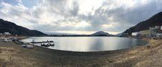 河口湖 and water reflection. #bgtravel