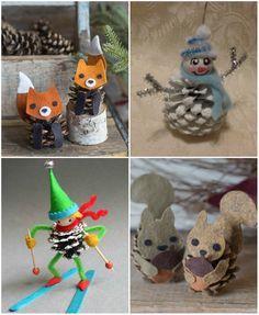 fa78253ef NapadyNavody.sk | Inšpirácie na vianočné dekorácie zo šišiek, s ktorými  ušetríte