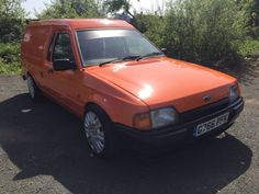 2256be3821 Details about Ford escort van mk4 1990