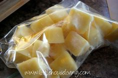 What to do with extra cream...Cream Cubes!