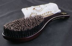 "Crown Quality Products | 360 Gold Wave Brush Mahogany ""Softy""...... Limited"