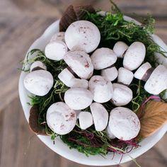 Handmade Meringue Mushrooms - Bagged 24 pack