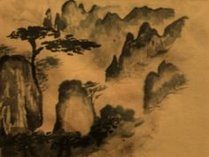 Chinese mountain sumie session by LeeHenrik on DeviantArt
