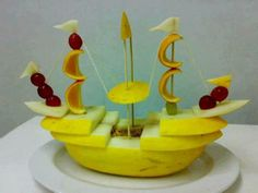 Bateau fruit