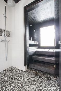 a wonderful design ideas for your own home sauna Diy Bathroom Decor, Bathroom Interior, Modern Bathroom, Small Bathroom, Saunas, Sauna Seca, Beddinge, Sauna Design, Spa Rooms