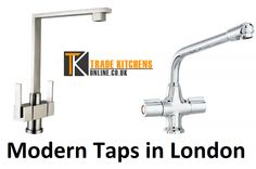 Modern taps look really classy and tempting with their knob-less infra-red style, but one shouldn't give into impulsive attraction and incur huge expenses before knowing about the taps well. Modern taps look good with modern fittings and thus it is advisable to go for them only when thinking about remodeling the whole kitchen or bathroom.