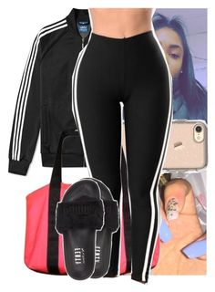 """Eric Bellinger - remind her."" by theyknowtyy ❤ liked on Polyvore featuring adidas, OtterBox, Victoria's Secret and Puma"
