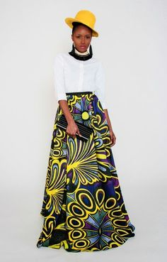 African Prints in Fashion: Fainting: Demestiks NY - New Collection