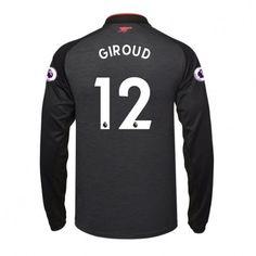 Arsenal Olivier Giroud 12 3rd trikot 17-18 Langarm
