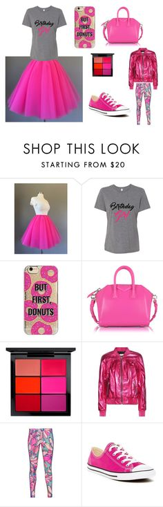 """""""Its My Birthday!!!!"""" by mkauffman-1 ❤ liked on Polyvore featuring Agent 18, Givenchy, MAC Cosmetics, Yves Saint Laurent, adidas Originals, Converse and birthdayonelectiondaystinks"""