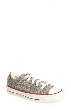 Converse Chuck Taylor® All Star® 'Winter Knit Ox' Low Top Sneaker (Women) available at #Nordstrom