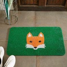 Kikkerland Floor Mat - Fox   West Elm