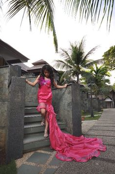 Debutant gown by JNG