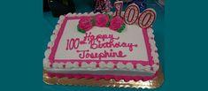 Happy 100th Birthday Josephine - Juniper Communities Yellow Flowers, Pink Roses, Yellow Balloons, Bucks County, Best Candles, Milestone Birthdays, Yummy Cakes, The 100, The Incredibles