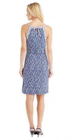 Ellin Halter Dress in Pop Arcadia by J.McLaughlin