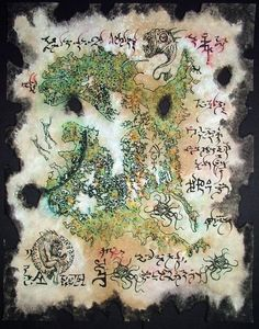 Cthulhu LARP Rlyeh Map Lovecraft Monsters Necronomicon Occult Demons Cosplay | eBay