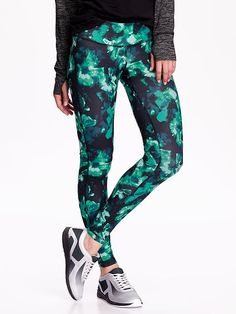 Patterned Compression Leggings