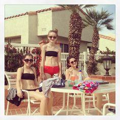Ciara Bravo Swimming