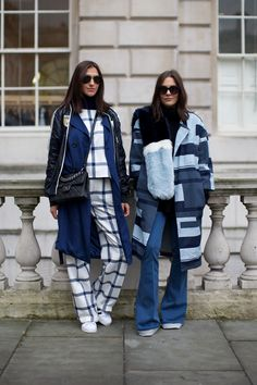 Street Style at London Fashion Week AW15. Photographs by Marcus Dawes for LFW The Daily,  (www.marcusdawes.com)