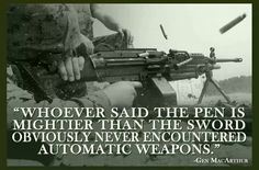 General MacArthur quote