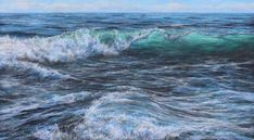 Marine art 2 - Welsh Artist - Vernon W. Seascape Art, Close Image, Vernon, Rollers, Arrow Keys, Artist, Painting, Outdoor, Outdoors