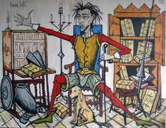#ARTIST Bernard Buffet - Don Quichotte